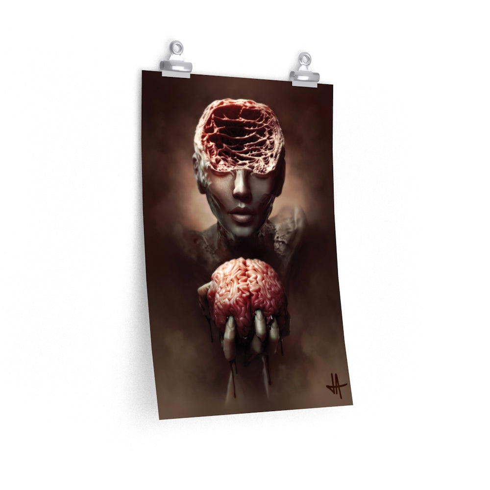 Poster ANXIETY Unlimited Premium Matte vertical posters - Tattooed Theory