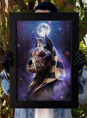 """Anubis"" Limited Art Print"