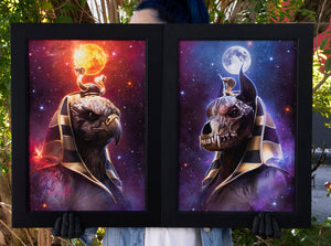 """Ra & Anubis"" Bundle Limited Art Print"