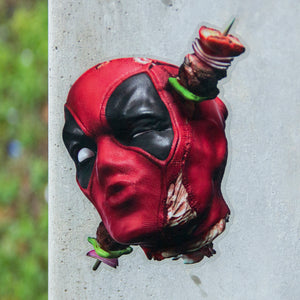"""Deadpool Kebab"" Sticker"