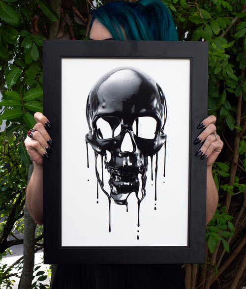 """Drippy"" Art Print"