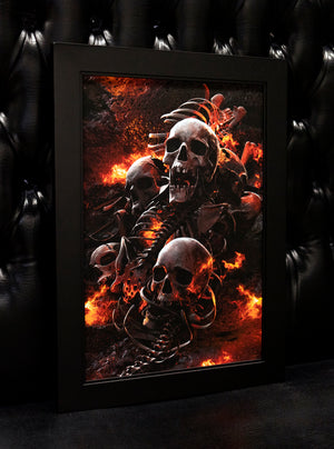 "Load image into Gallery viewer, ""TORMENT"" Limited Art Print"