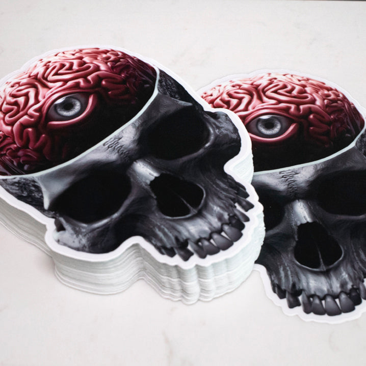 "Load image into Gallery viewer, Sticker ""Mind's Eye"" Sticker - Tattooed Theory"