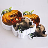 """Pumpkin Baby"" Sticker"