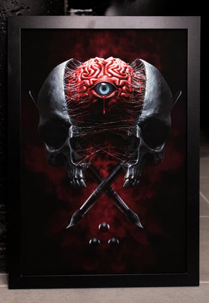 "Load image into Gallery viewer, ""Mind's Eye"" Limited Art Print"