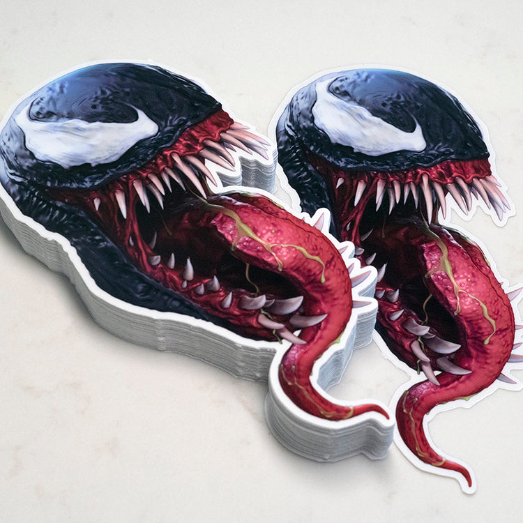 """Venom's Kiss"" Sticker - BUY 2 GET 1"