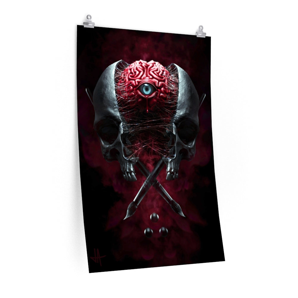 Poster MIND'S EYE Premium Matte vertical posters - Tattooed Theory