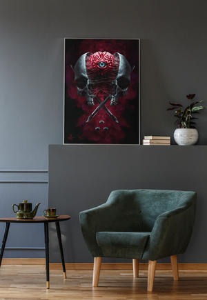 Load image into Gallery viewer, Poster MIND'S EYE Premium Matte vertical posters - Tattooed Theory