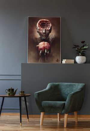 Load image into Gallery viewer, Poster ANXIETY Unlimited Premium Matte vertical posters - Tattooed Theory