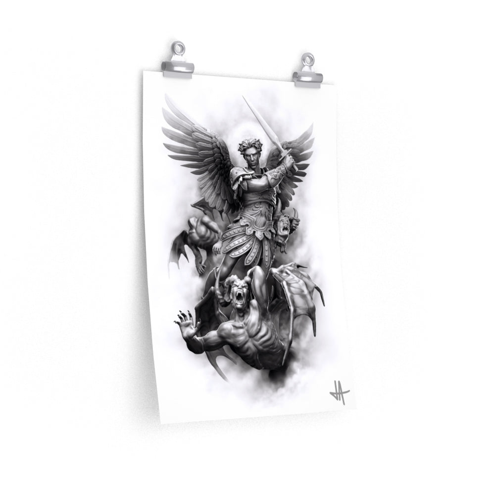 Poster ARCHANGEL, THE HEAD COLLECTOR Unlimited Premium Matte vertical posters - Tattooed Theory