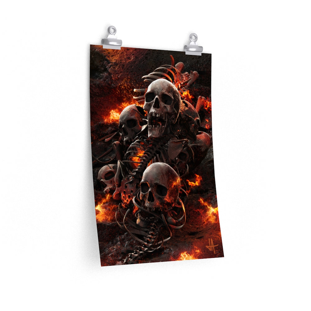 Poster TORMENT Unlimited Premium Matte vertical posters - Tattooed Theory