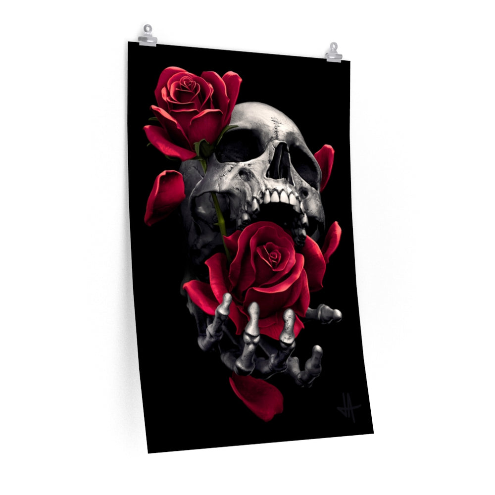 Poster DEATHS TOUCH - Unlimited Premium Matte vertical posters - Tattooed Theory