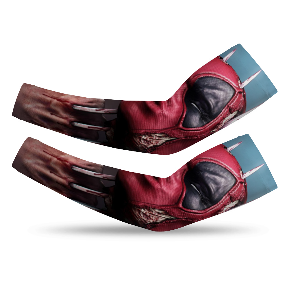 DeadPool UV arm Sleeve - pair
