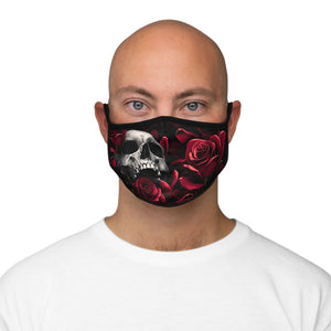 Load image into Gallery viewer, Accessories DEATHS TOUCH - Fitted Polyester Face Mask - Tattooed Theory