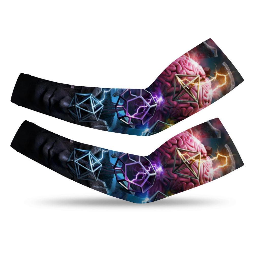 Load image into Gallery viewer, Enlightenment UV arm Sleeve - pair
