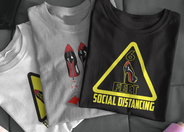 Shoe Lovers Social Distancing T-shirts