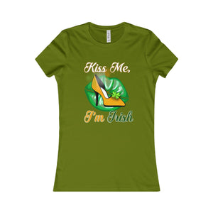 Kiss Me I'm Irish Women's Tee