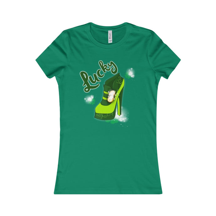 Lucky Women's Shoe Tee