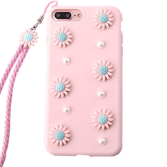 Floral and Pearl Case