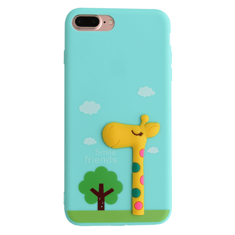 Giraffe 3D Silicon Case