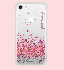 The Flying Hearts Case with your Name
