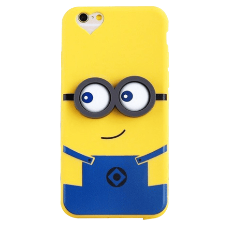 Minion 3D Silicon Case