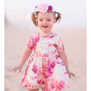 Sakura Bow & Twirl Dress