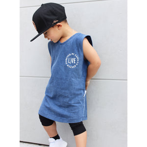 Family Stonewash Muscle Tank (nearly sold out)