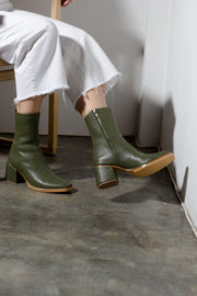 Pre-Order: Ayu Boots Olive Croc