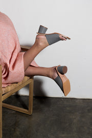 Riku Heels Dove Grey