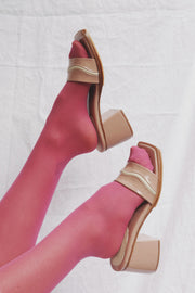 The Wave Heel Blush