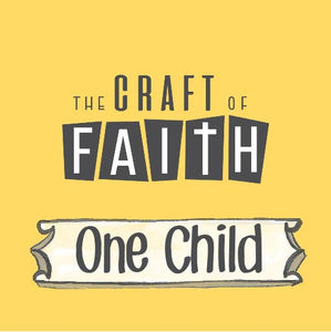 1 Child: Four Bible craft projects every month!