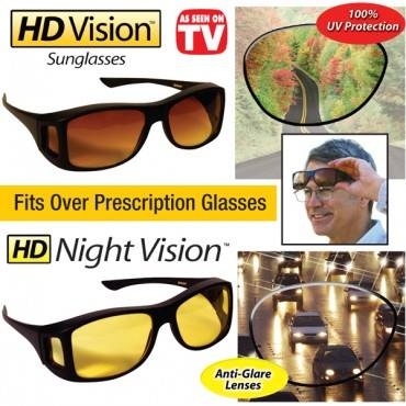 HD Vision Anti Glare Night View Driving Glasses (Buy 1 Take 2)