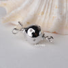 Sterling Silver Round Ball Box Clasp 2