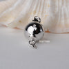 Sterling Silver Round Ball Box Clasp 3