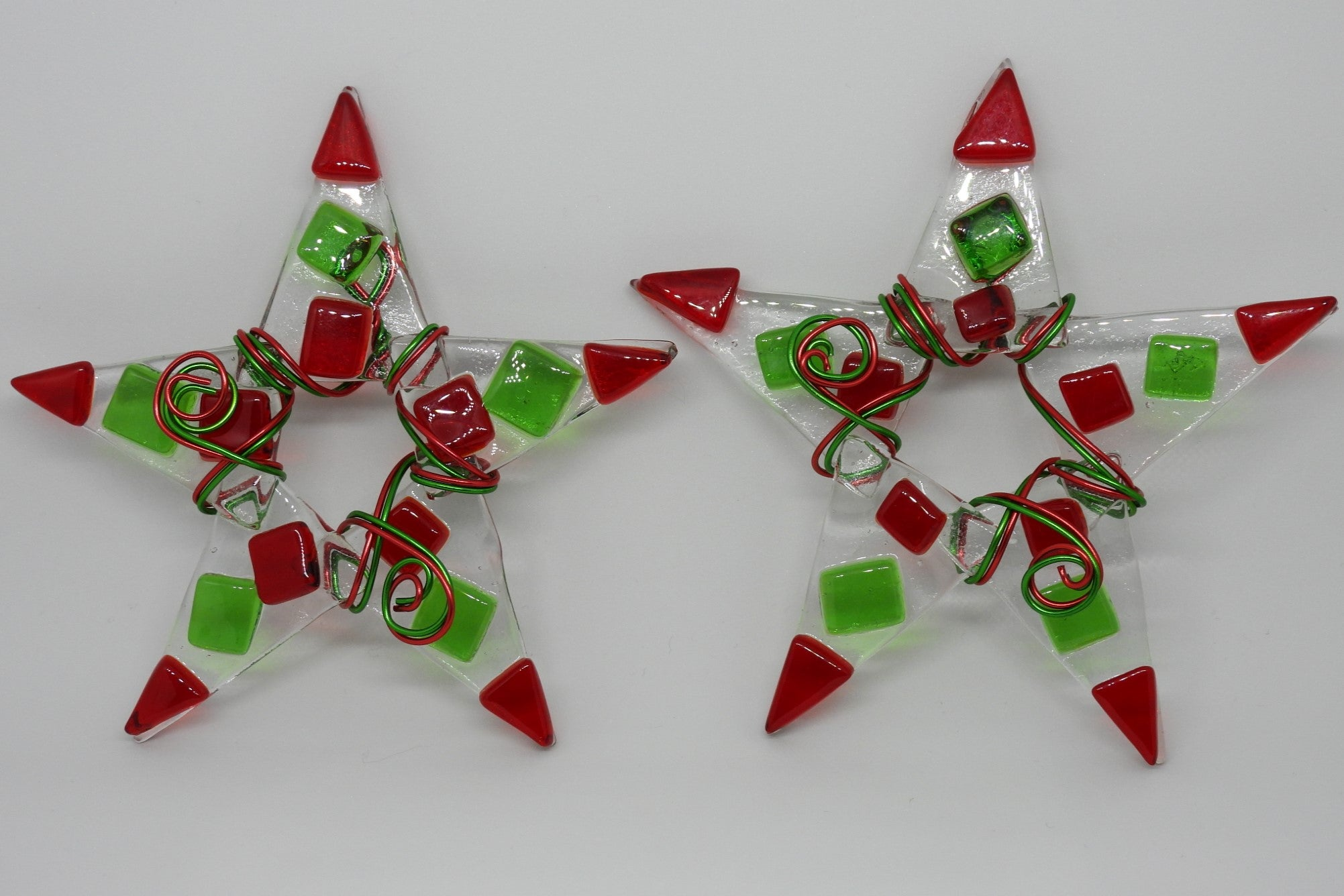 Red & Green Chunk Star
