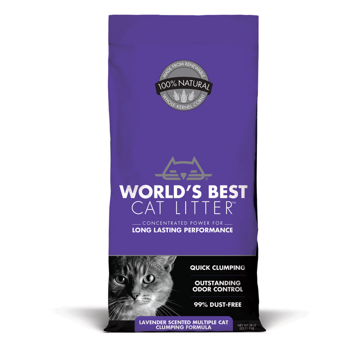 World's Best Lavender Scented Multiple Cat Clumping