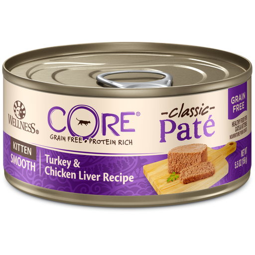 Wellness Core Grain Free Kitten Turkey/Chicken Liver Pate 3oz