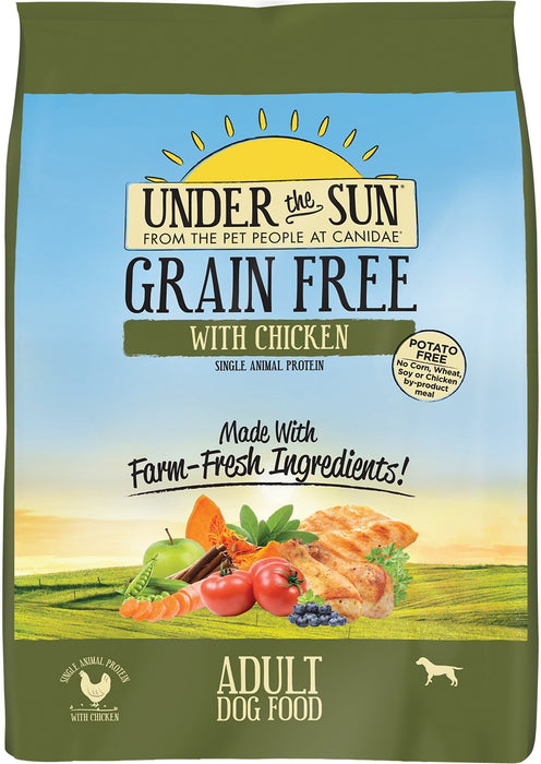 Canidae Under The Sun Grain Free Dog Food: Chicken 25lb