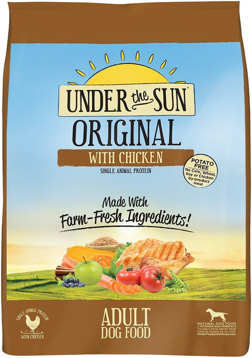 Canidae Under The Sun Dog Food: Original Chicken 25lb