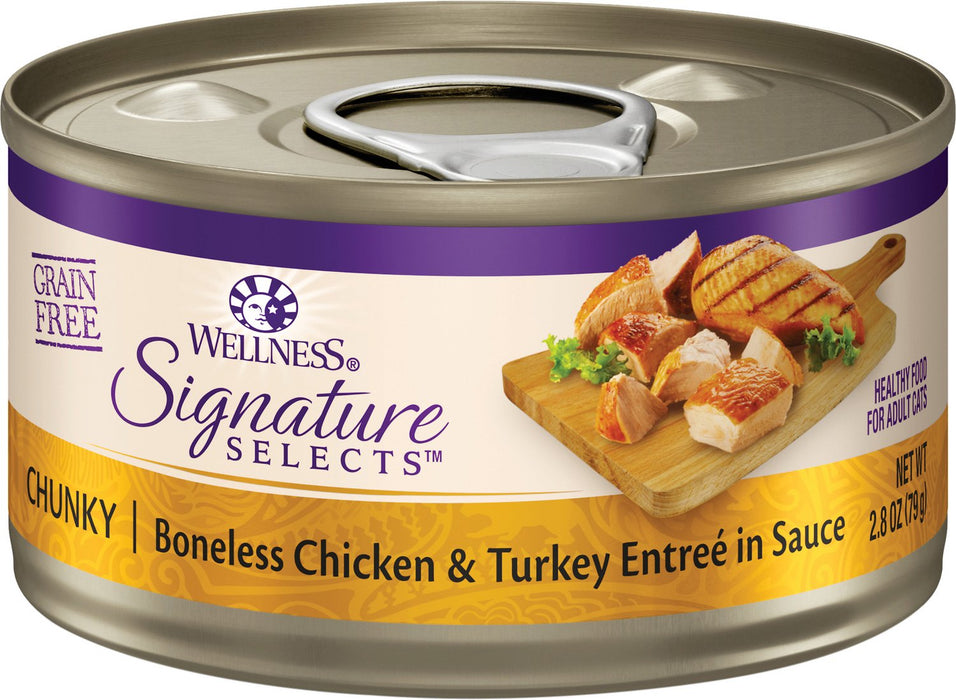 Wellness Signature Chunky Boneless Chicken & Turkey Entree