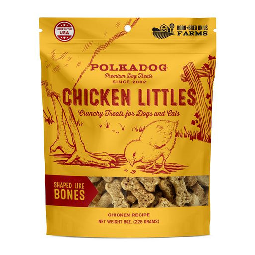 Polka Dog Chicken Littles Crunchy Treats 8 oz