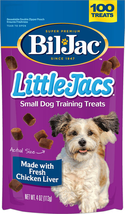 Bil Jac Little Jac  Liver Treats for Small Dogs