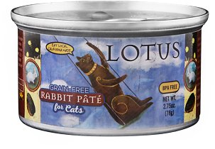 Lotus Cat Grain Free Rabbit Pate 2.75oz