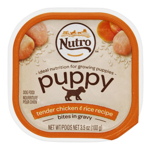 Nutro Natural Choice Small Breed Puppy Food Chicken Rice and Oatmeal 3.5 oz