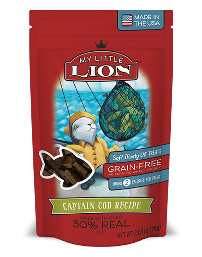 My Little Lion Cod Cat Treat 2.6oz