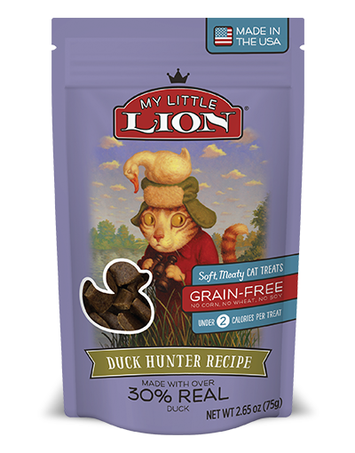 My Little Lion Duck Cat Treat 2.6oz