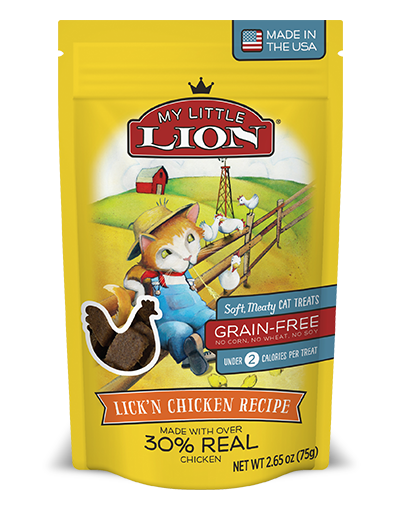 My Little Lion Chicken Cat Treat 5.3oz