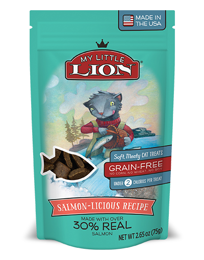 My Little Lion Salmon Cat Treat 5.3oz