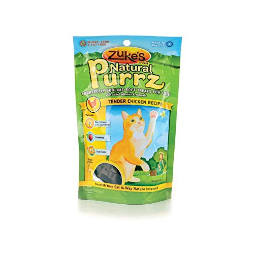 Zukes Natural Purrz: Chicken 3 oz
